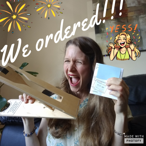 We Ordered!!!